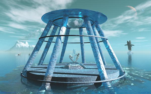 Orbital Maneuvers Wallpaper: Temple of the Sun