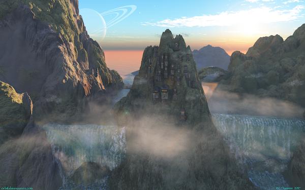 Wallpaper - Mountain Mists